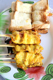 Pork satay Royalty Free Stock Photography