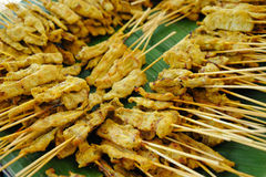 Pork Satay Stock Image