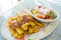 Pork Satay Stock Image