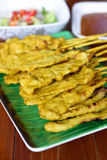 Pork Satay Stock Photo