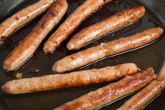 Pork sausage Royalty Free Stock Image