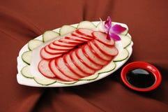 Pork sausage Stock Photo