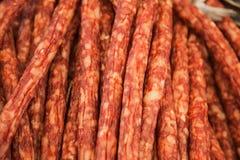 Pork sausage Royalty Free Stock Photos