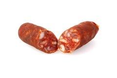 Pork sausage Stock Image