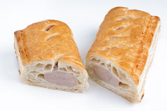 Pork sausage roll Royalty Free Stock Photo