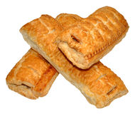 Pork Sausage Rolls Royalty Free Stock Photography