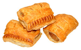 Pork Sausage Rolls Royalty Free Stock Images