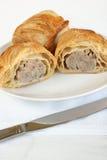 Pork sausage rolls Royalty Free Stock Photography