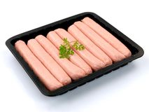 Pork Sausages Royalty Free Stock Image