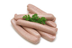 Pork Sausages Royalty Free Stock Images