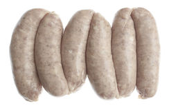 Pork sausages Royalty Free Stock Photo