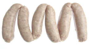Pork sausages Royalty Free Stock Photos
