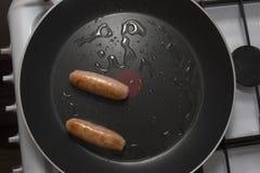 Pork Saussages Royalty Free Stock Photos