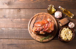 Pork shank Royalty Free Stock Photos