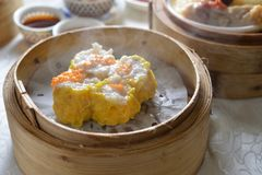 Pork Shaomai dumpling dim sum Royalty Free Stock Photography