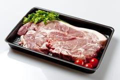Pork Shoulder. Raw pork meat cut known as pork shoulder Stock Photography