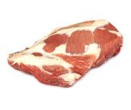 Pork shoulder. On a white background Stock Images