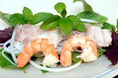 Pork, and shrimp Royalty Free Stock Photography