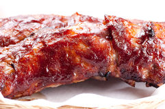 Pork side ribs Royalty Free Stock Images
