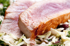 Pork side ribs. Some juicy barbequed organic pork side ribs stock images