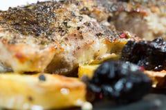 Pork sirloin roast Royalty Free Stock Images