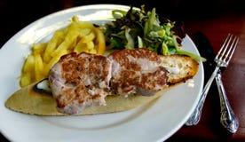 Pork sirloin toast. Stock Images