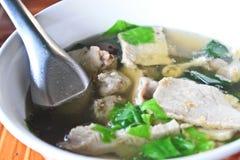 Pork soup. Royalty Free Stock Photo