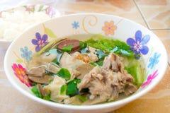 Pork soup Stock Photography