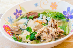 Pork soup Royalty Free Stock Images