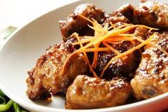 Pork spare ribs Royalty Free Stock Image