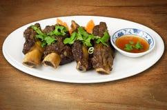 Pork spare ribs Stock Image