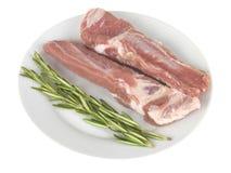 Pork Spare Ribs Royalty Free Stock Photos