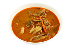 Pork spicy curry Royalty Free Stock Images
