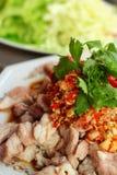 Pork spicy lemon  - asia food Stock Images