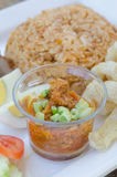 Pork spicy sauce Royalty Free Stock Images