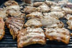 Pork Stakes Royalty Free Stock Image