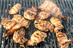 Pork Stakes Stock Photos