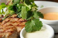 Pork steak Royalty Free Stock Images