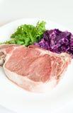 Pork steak Stock Photography