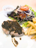 Pork Steak. Royalty Free Stock Images