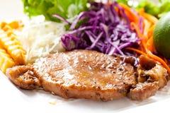 Pork steak. Stock Photography