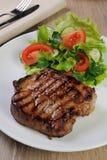 Pork steak Stock Photo