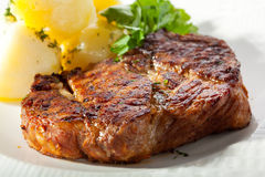Pork Steak Royalty Free Stock Image