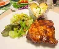Pork steak Royalty Free Stock Photos