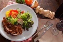 Pork steak Royalty Free Stock Photo