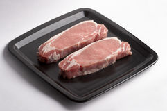 Pork steaks Royalty Free Stock Image