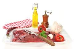 Pork steaks Stock Image