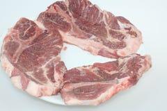 Pork Steaks Stock Photo