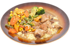 Pork Stew. royalty free stock photos