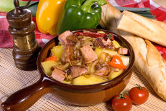 Pork stew Stock Image